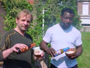 Założyciele browaru Mongozo