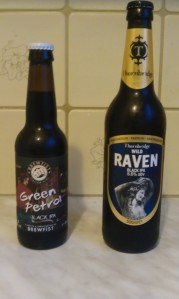 Thornbridge Wild Raven oraz Brewfist Green Petrol