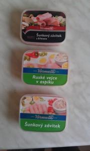 Czeskie sałatki i galaretki