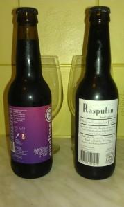 Rasputin Brouwerij de Molen oraz Emelisse  Russian Imperial Stout